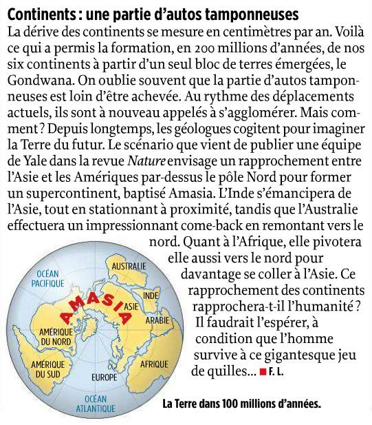 tectonique des plaques / dérive des continents / Plaques océaniques 13-02-10