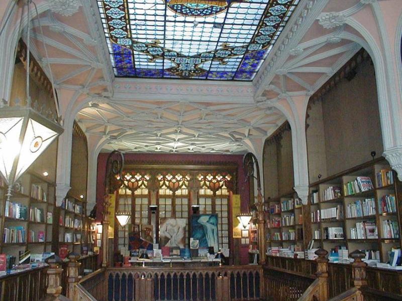 La librairie Lello et Irmao, Porto - Portugal 22-05-13