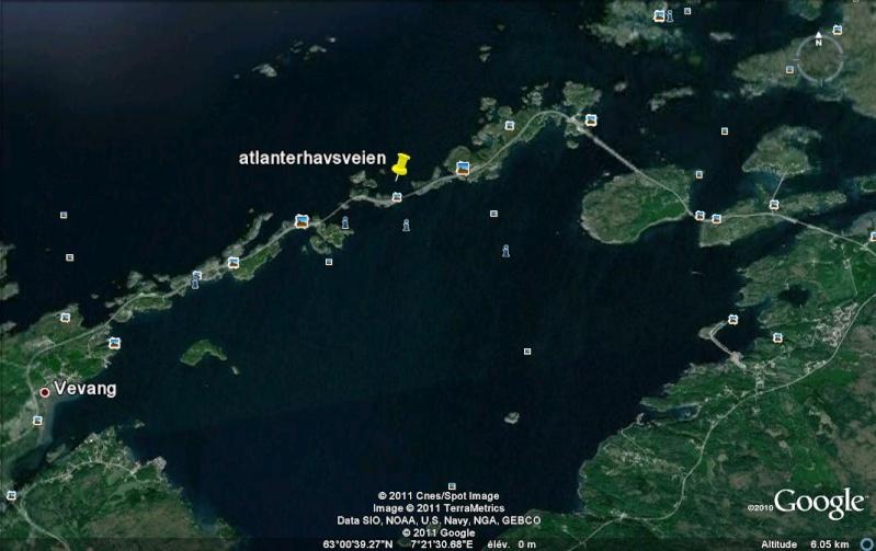 Route de l'Atlantique (atlanterhavsveien) - Norvège Atlant10