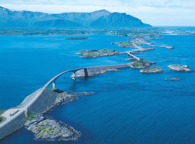 Route de l'Atlantique (atlanterhavsveien) - Norvège Atlant11