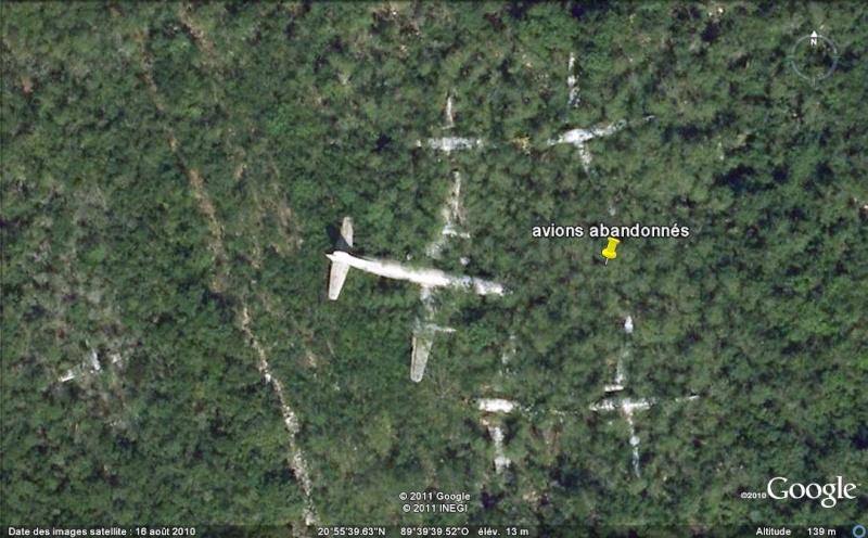 [Mexique] - Avions abandonnés - Aéroport de Mérida Avions10
