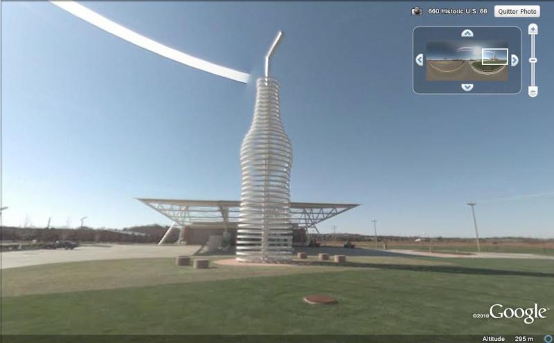 Bouteille de soda géante- Arcadia - Oklahoma - USA Boutei10