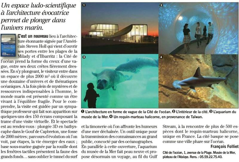 Cité de l'Océan et du Surf - Biarritz - France Cita_d10