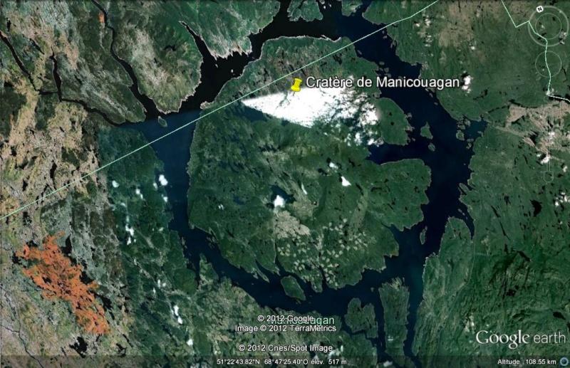 [Canada] - Les cratères d'impact Cratar11