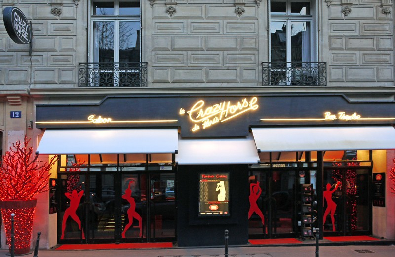 Crazy Horse Saloon - 10, Boulevard George V - Paris - France Crazy-10