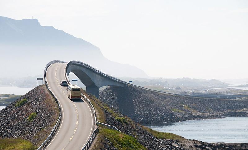 Route de l'Atlantique (atlanterhavsveien) - Norvège Eide_a10