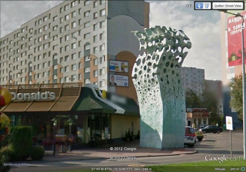 """""""Monument"""" de Mc Donald's"""" - Lodz - Pologne Er10"""