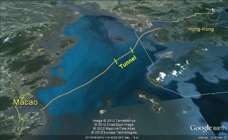 Le pont Macao >>>  Hong-kong, en construction Ge11