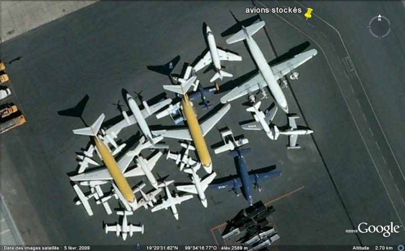 [Mexique] - Stockage d'avions - aéroport de Toluca Ge_avi10
