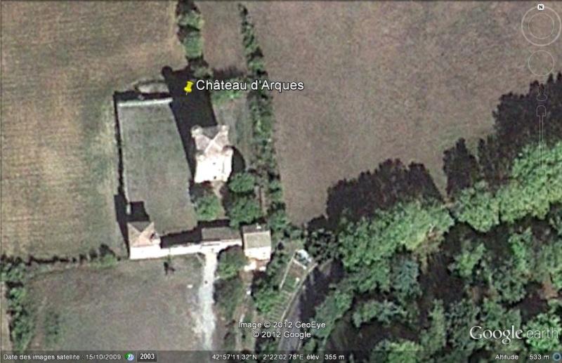 Le château d'Arques - Aude - France Ge_cha14