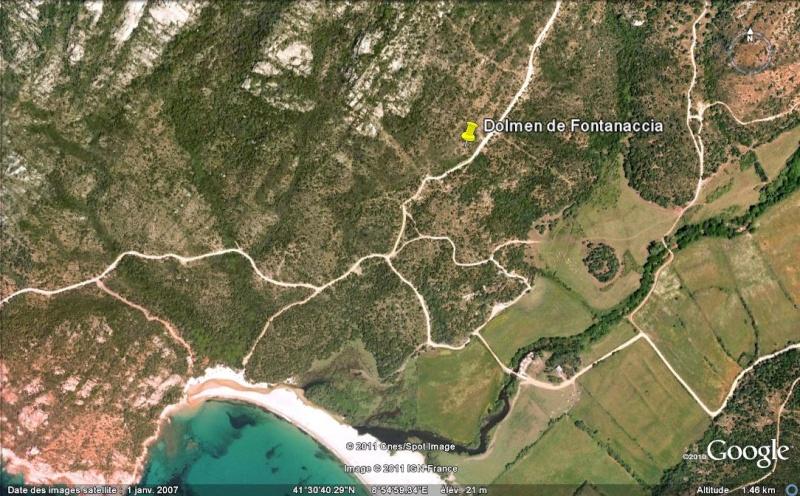 Dolmen de Fontanaccia - Commune de Sartène - Corse - France Ge_dol11