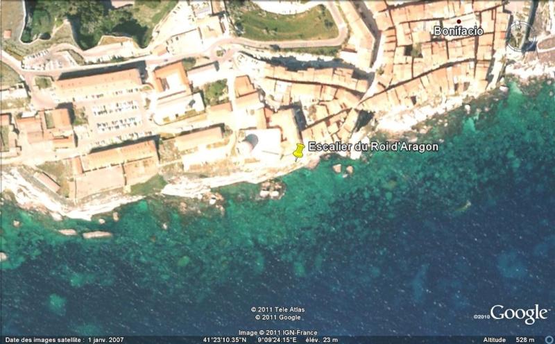L'escalier du Roi d'Aragon - Bonifacio - Corse - France Ge_esc10