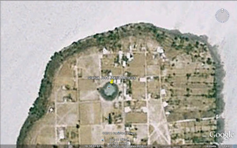 [Mexique] - Statue de José Maria Morelos, Isla de Janitzio, Etat du Michoacan Ge_sta13