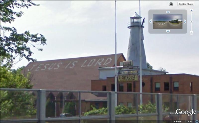 Un phare en ville à Worthington, Ohio - Etats-Unis ?? Lighth10