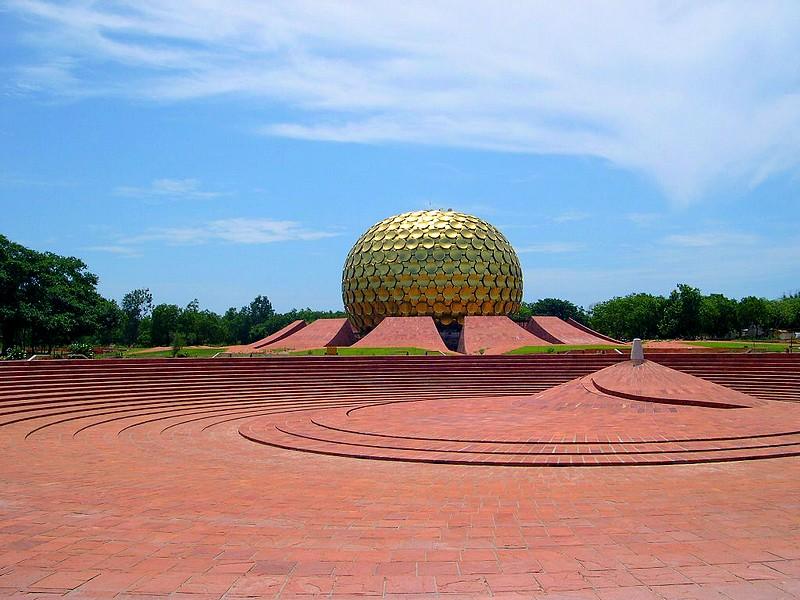 Temple Matrimandir, Auroville, Inde [Trouvé par PBMatcho] - Page 2 Picdsc10