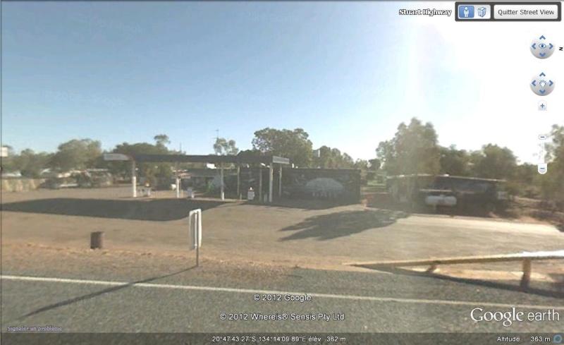 """[Australie] - Station service """"UFO"""" Sv10"""
