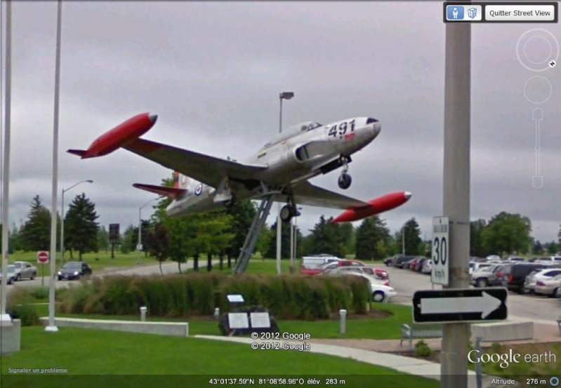 [Canada] - Avion sculpture-London - Ontario Sv16