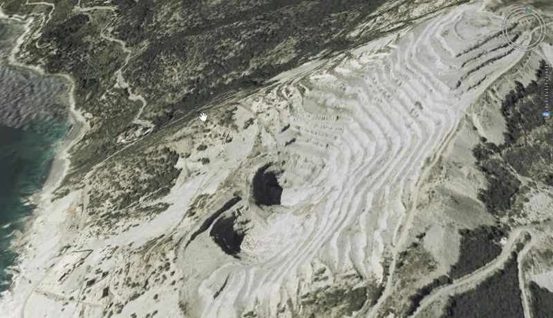 Mine de Canari - Haute Corse - FRANCE Vue_3d10