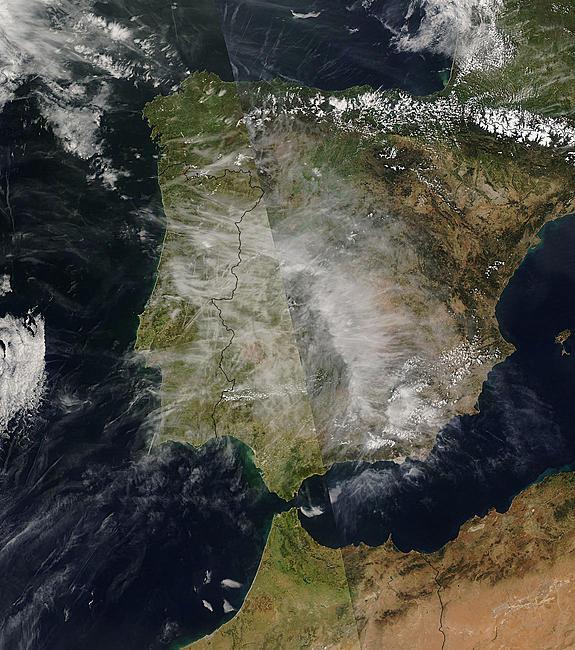 24 de Abril de 2009 [Intensas fumigaciones] Europe10
