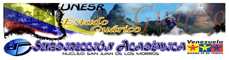 Dirección UNESR ░ Núcleo: San Juan de los Morros