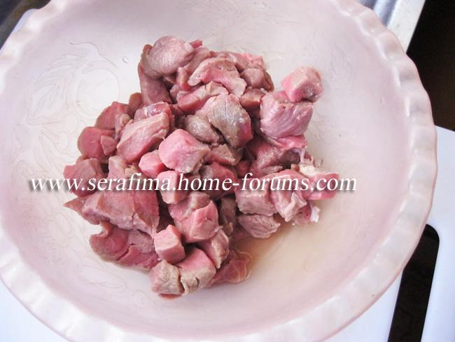 Галяе пандора ма ляхма. Помидоры с мясом. Арабская кухня. Img_1212