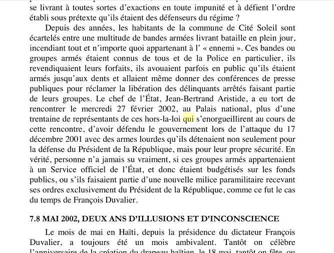 Doktè Gessie Cameau ansyenn komisè mande dekiprevyen akizasyon volèz.kowonpi Titid_10