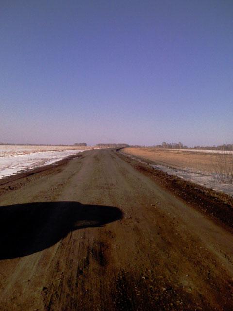 Состояние поля и дорог на Южном... 310