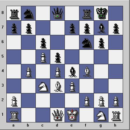 Gambit dame refuse sur Yahoo Chess Ubootu10