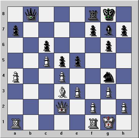 Gambit dame refuse sur Yahoo Chess Ubootu11