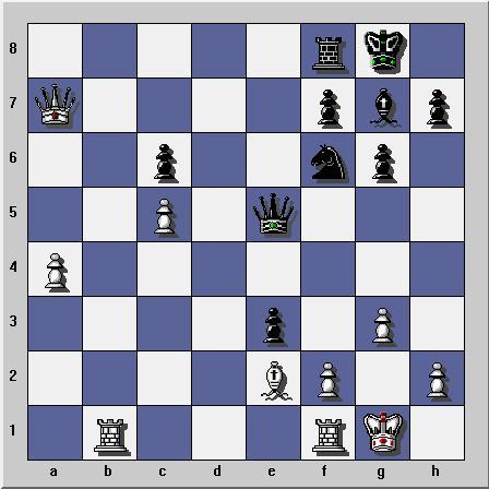 Gambit dame refuse sur Yahoo Chess Ubootu12
