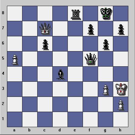 Gambit dame refuse sur Yahoo Chess Ubootu13