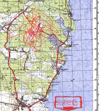 Прохватил к киевскому морю... Map21010