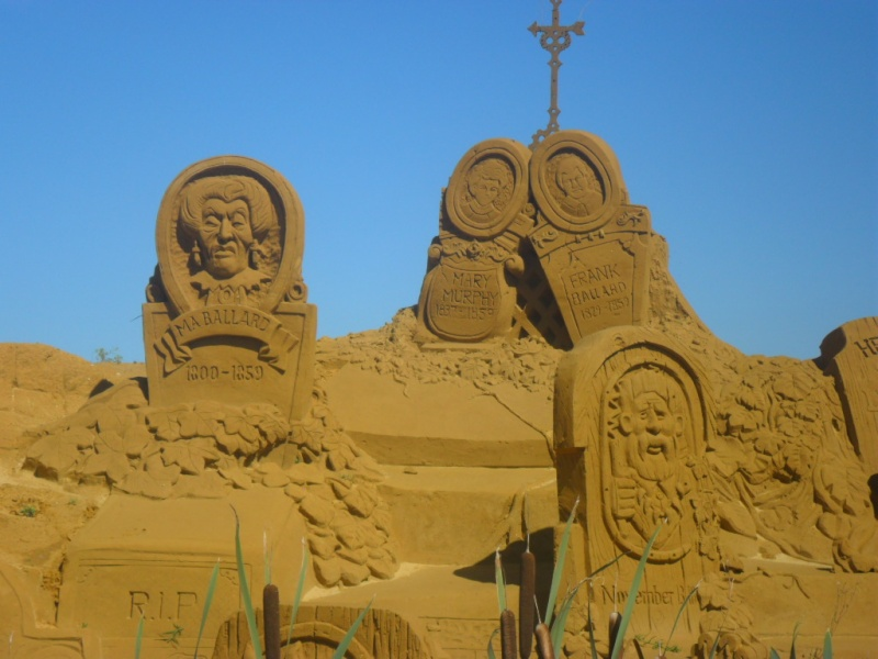 Blankenberge: Sculpture de sable Festival 2011 (belgique) - Page 4 Sam_2814