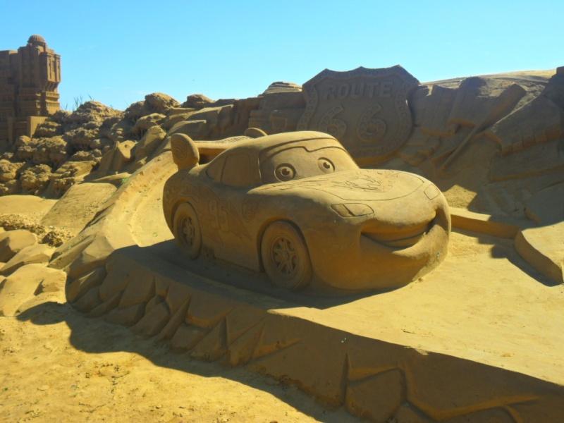Blankenberge: Sculpture de sable Festival 2011 (belgique) - Page 4 Sam_2817