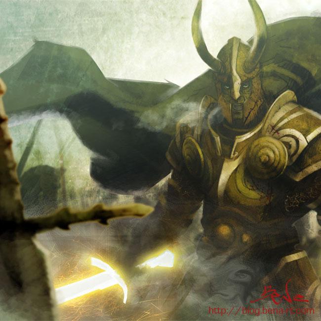 santos dorados del año 1000 Shura10
