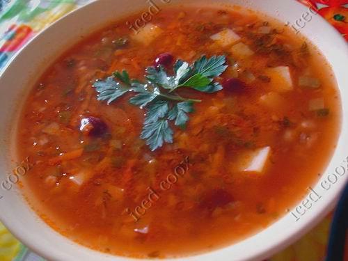 СупЫ, борщИ и другая первая жидкая пиСЧа Dsc01511