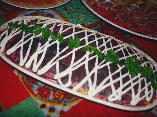 блюда - День рожденеФское меню, блюдА и праздничный стол Sh10