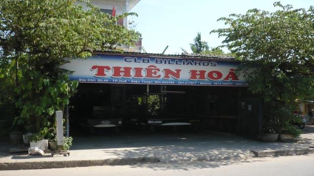 Câu lạc bộ BIDA THIÊN HÒA, đường QUỐC LỘ 49. Bdql4910