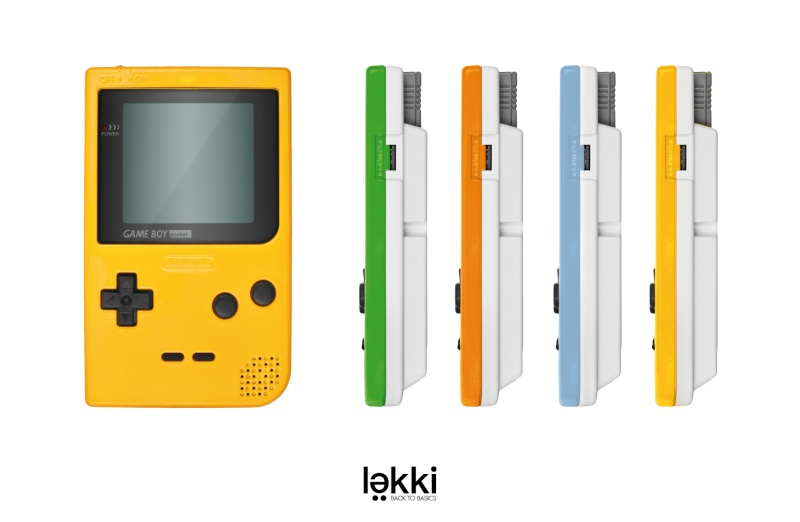 Lekki ressort le GB Pocket Sans-t10