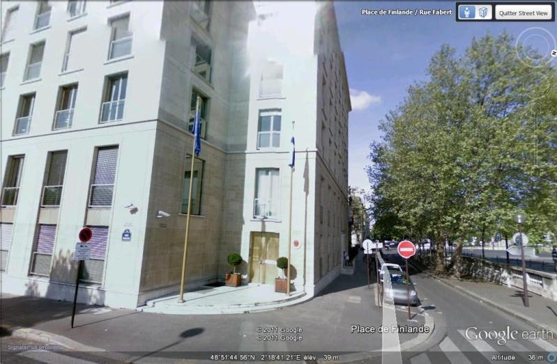 Les ambassades étrangères en France vues depuis Google Earth Ambass10