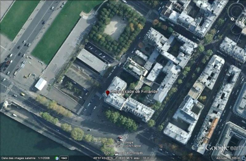 Les ambassades étrangères en France vues depuis Google Earth Ambass11