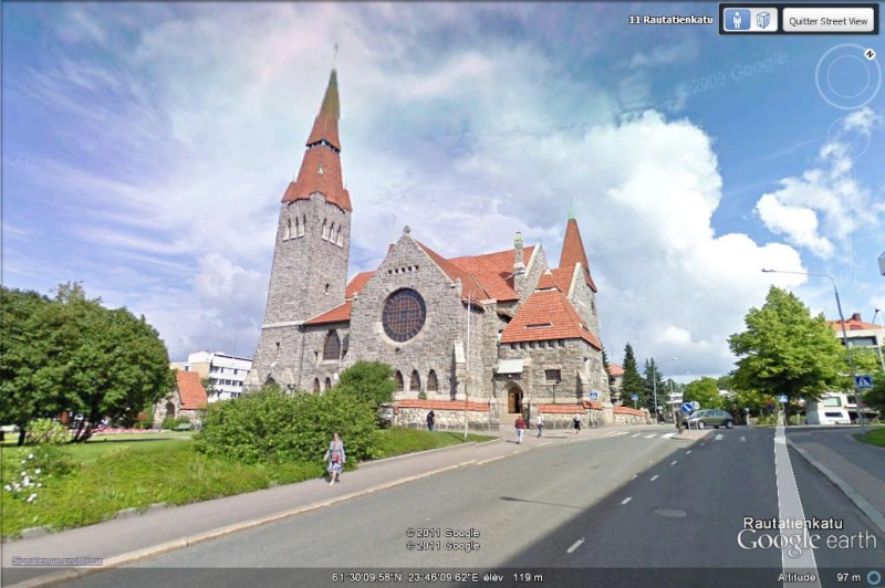 [Finlande] - STREET VIEW : les cartes postales - Page 3 Cathed10