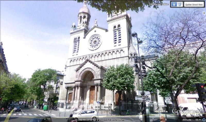 STREET VIEW : les cartes postales de Google Earth - Page 15 Eglise10