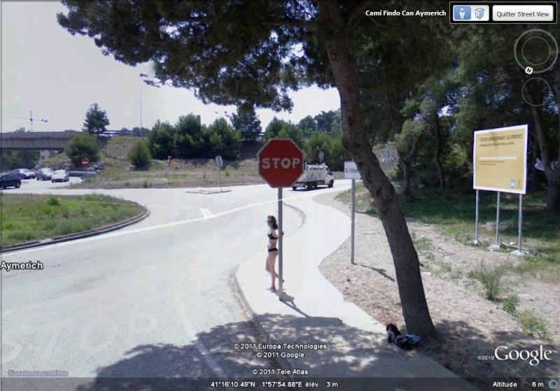 STREETVIEW: faire du stop:l'explication, Castelldefels, Espagne Faire_10