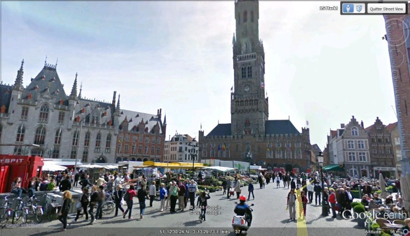 STREET VIEW : les scènes de marchés et brocantes Marcha11
