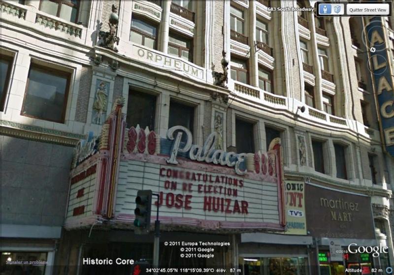Lieux de tournage de vidéo-clip découverts avec Google Earth Palace10