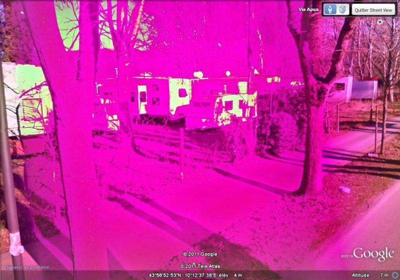 STREET VIEW : Bugs, collages, défauts dans l'image - Page 3 Rose_210