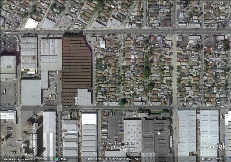 Lieux de tournage de vidéo-clip découverts avec Google Earth Zombie10