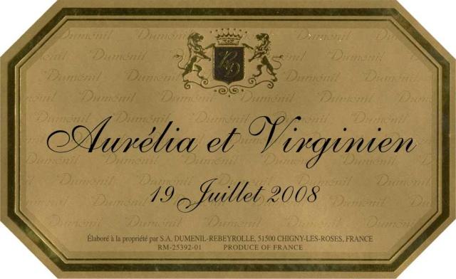 etiquette a champagne Aureli10