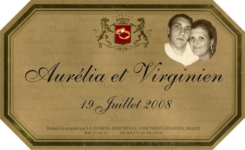 etiquette a champagne Aureli11